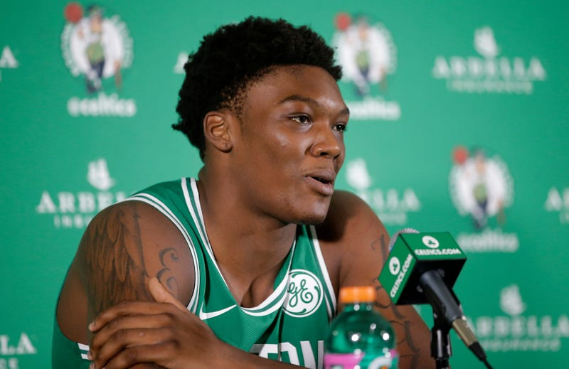 "Illustration for article titled Celtics' Robert Williams Is Fine Being Called ""Time Lord,"" But Danny Ainge Wants Better For Him"