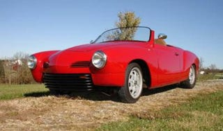 Illustration for article titled Could This Custom Karmann Ghia Command $18,000?