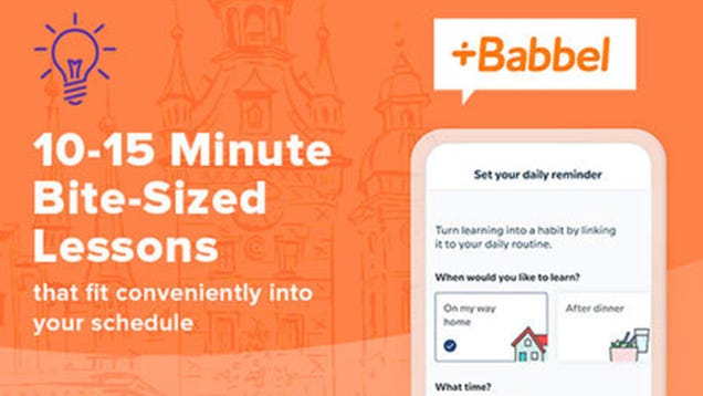 Hey All You Wanna-Be Linguists, Get a Lifetime Subscription to Babbel for 60% Off