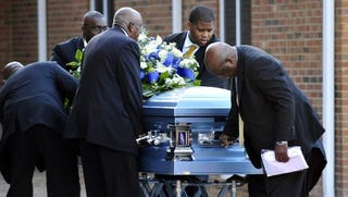 Executed prisoner Troy Davis is laid to rest. (Google)