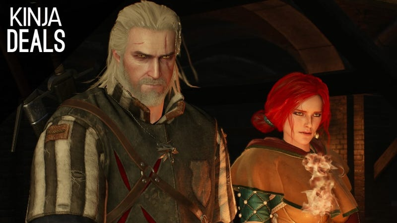 Illustration for article titled Pick Up a Copy of The Witcher 3 for $30