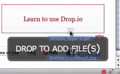 Drag & Drop io Makes Sharing Files Dead Simple