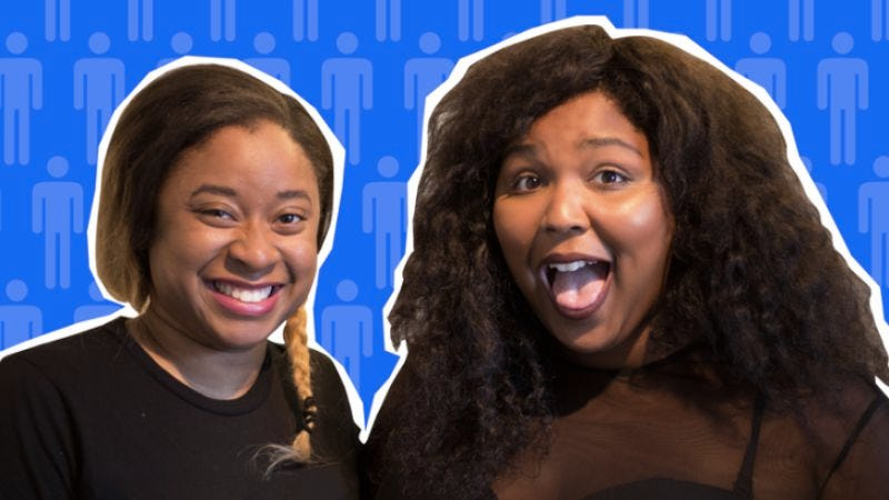 Phoebe Robinson and Lizzo (Image: Sooo Many White Guys / WNYC)