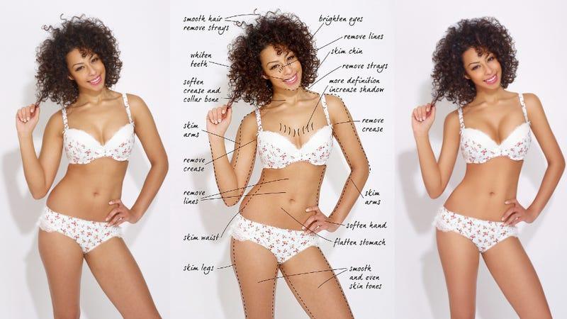Illustration for article titled Debenhams Bans Retouching of Its Lingerie Models