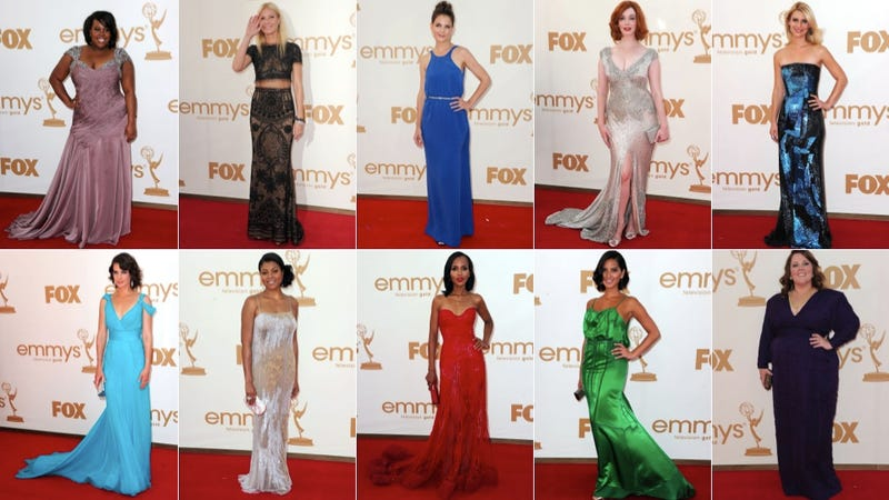 Illustration for article titled Emmys Fashion: Highs Are High, Lows Are Low