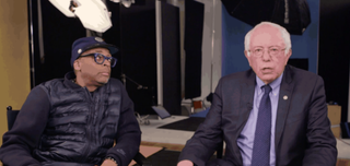 Spike Lee and Bernie SandersYouTube Screenshot