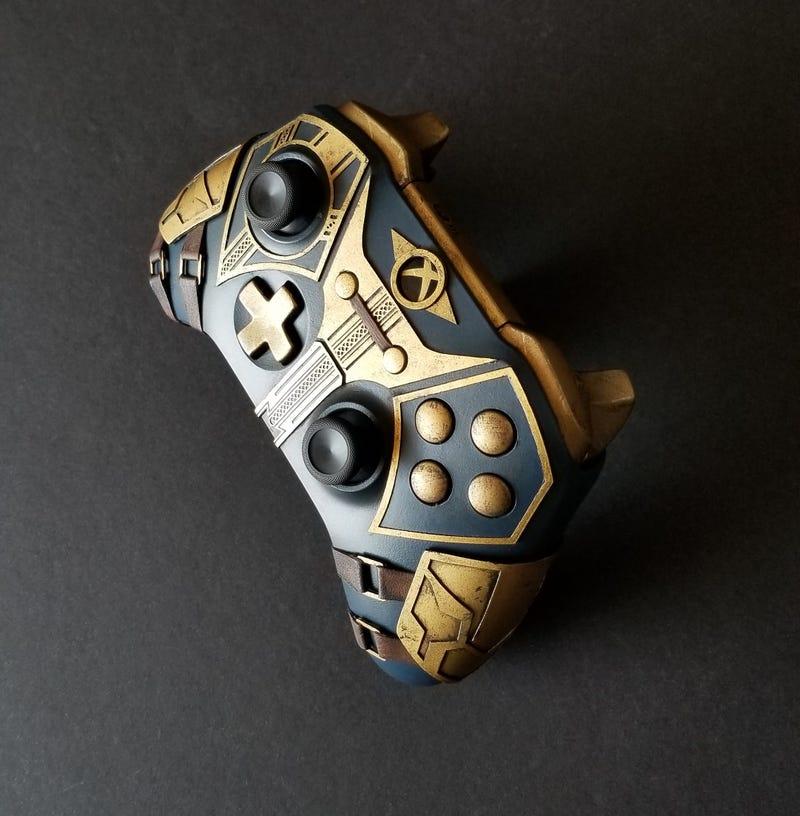 elder scrolls xbox controller is real nice kotaku uk. Black Bedroom Furniture Sets. Home Design Ideas