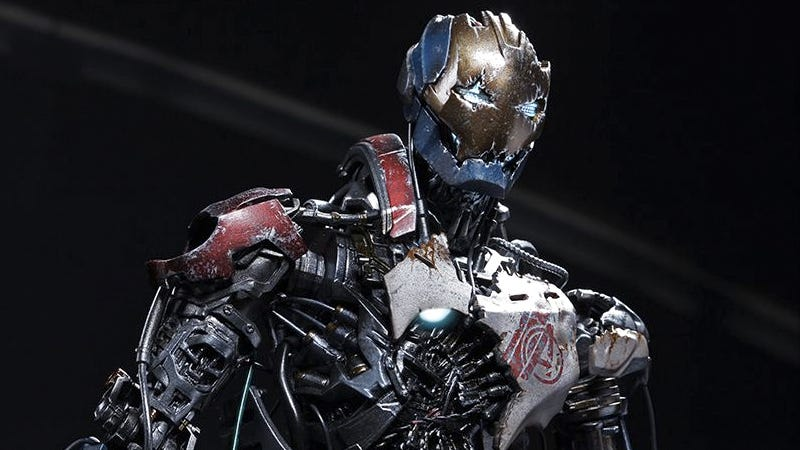 Illustration for article titled This Sixth-Scale Ultron Will Actually Make You Want a Busted Up Figure