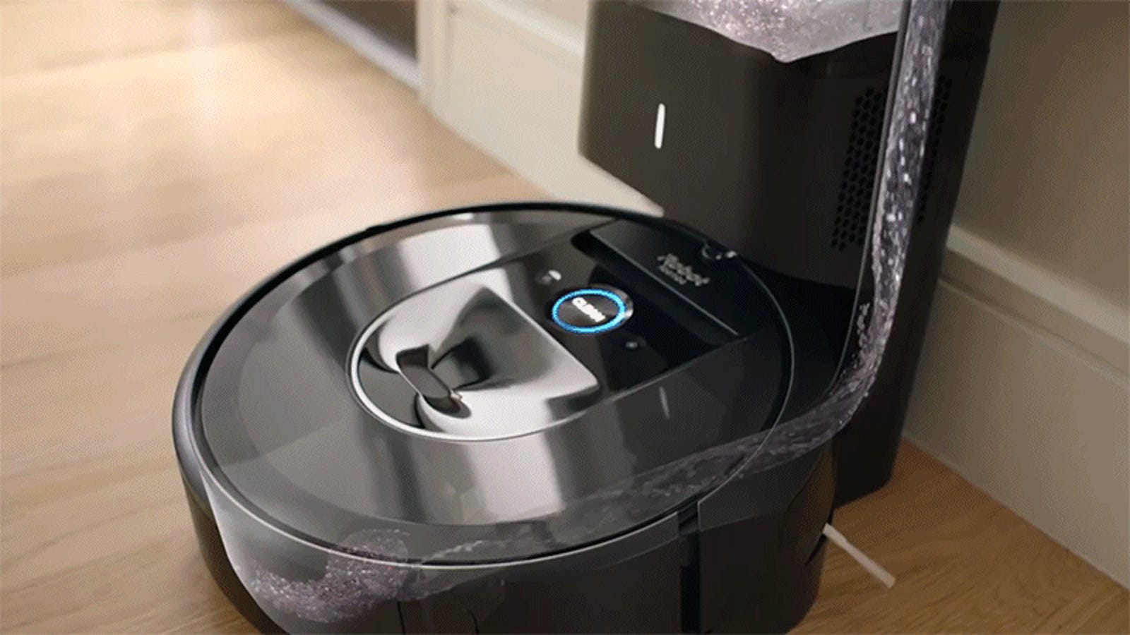 iRobot Says New i7+ Roomba Vacuum Actually Empties Itself