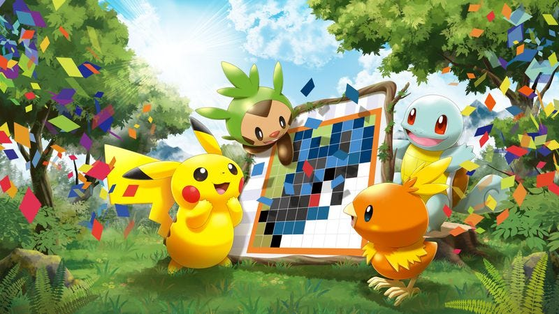 Illustration for article titled Pokémon Picross muddies its simple pleasures with free-to-play frustrations
