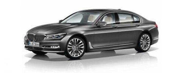 Illustration for article titled This Is The 2016 BMW 7 Series Way Before You're Supposed To See It