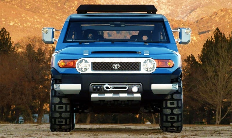 Toyota S 2003 Concept Truck That Eventually Became The Fj Cruiser Photo Credit