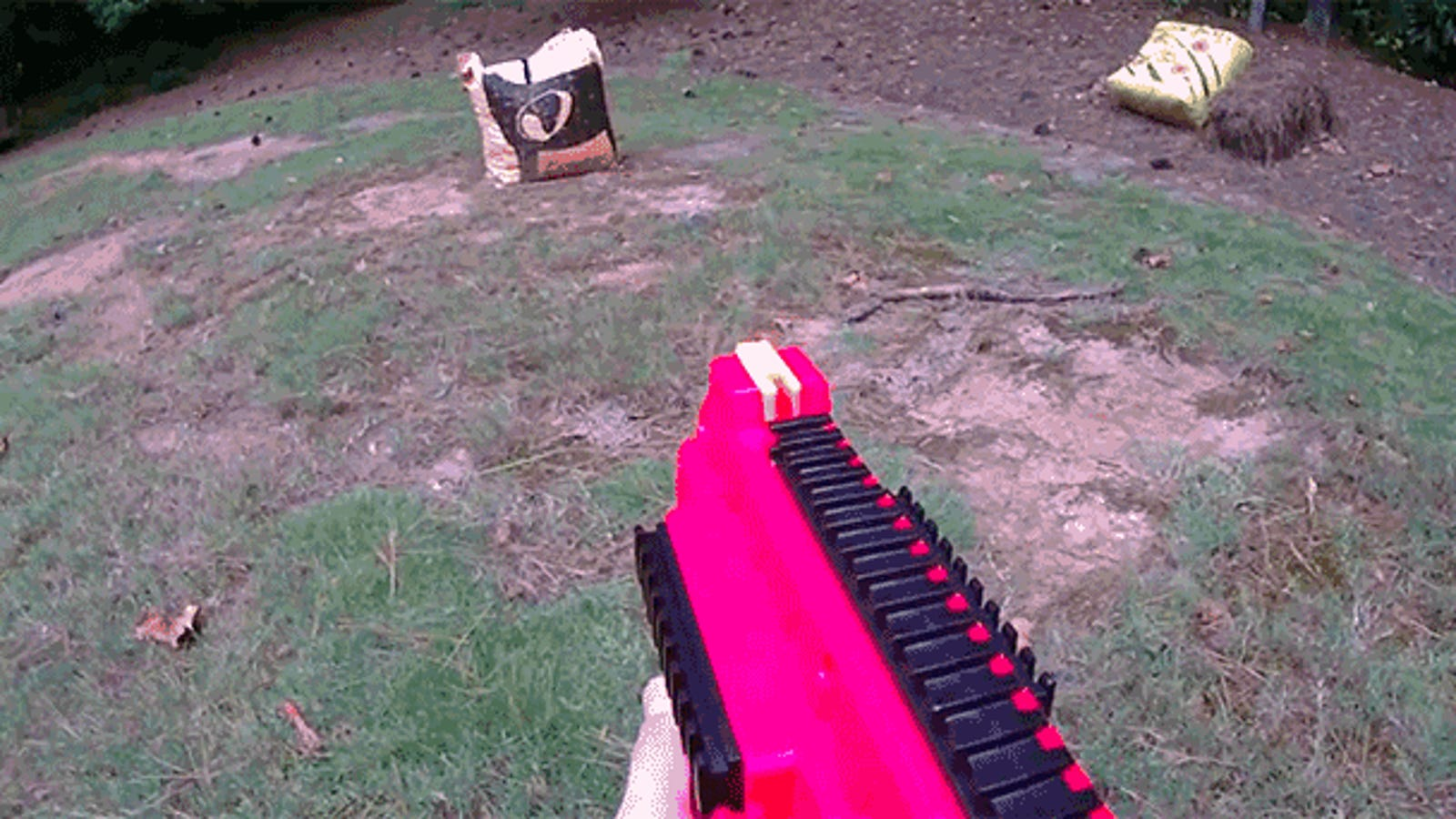Guy Upgrades Nerf's New 70 MPH Rival Zeus Blaster To Be Fully Automatic