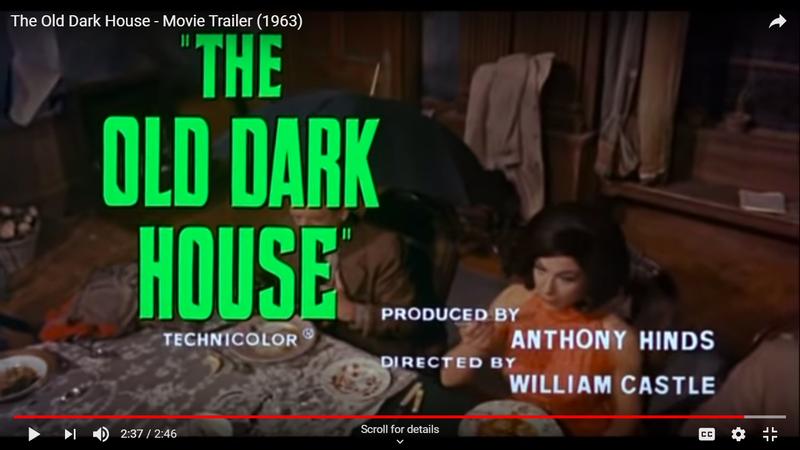 Illustration for article titled Svengoolie: The Old Dark House (1963)