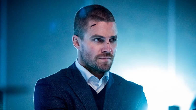 "This is Oliver Queen's ""I haven't changed"" face."