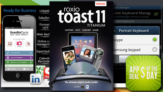 Illustration for article titled Daily App Deals:  Get Roxio Toast 11 Titanium (Mac) for 52% Off in Today's App Deals