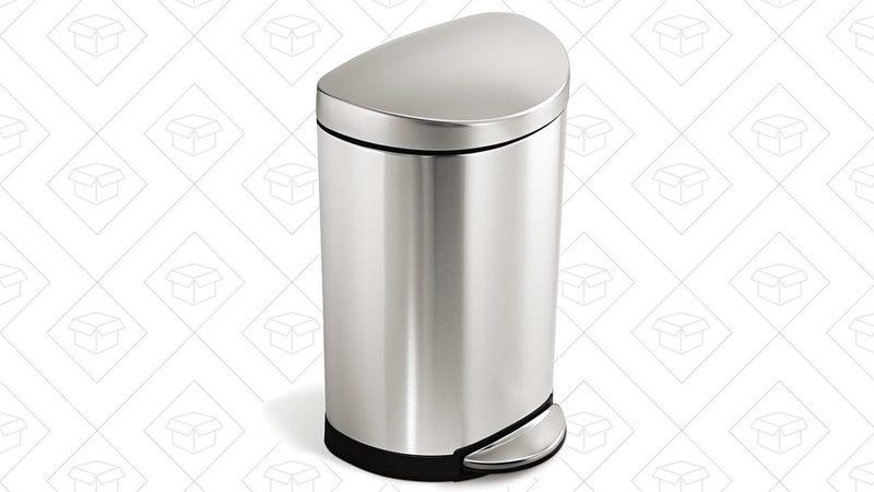 Simplehuman 10L Bathroom Trash Can | $30 | Amazon
