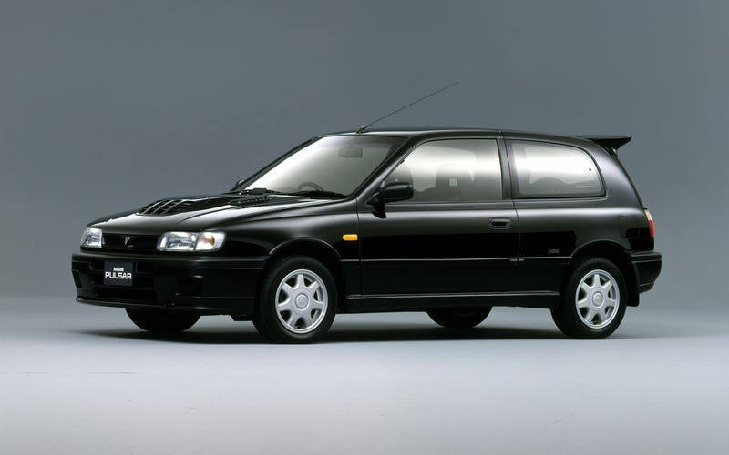 Illustration for article titled What were the competitors or counterparts of the Nissan Pulsar GTI-R?