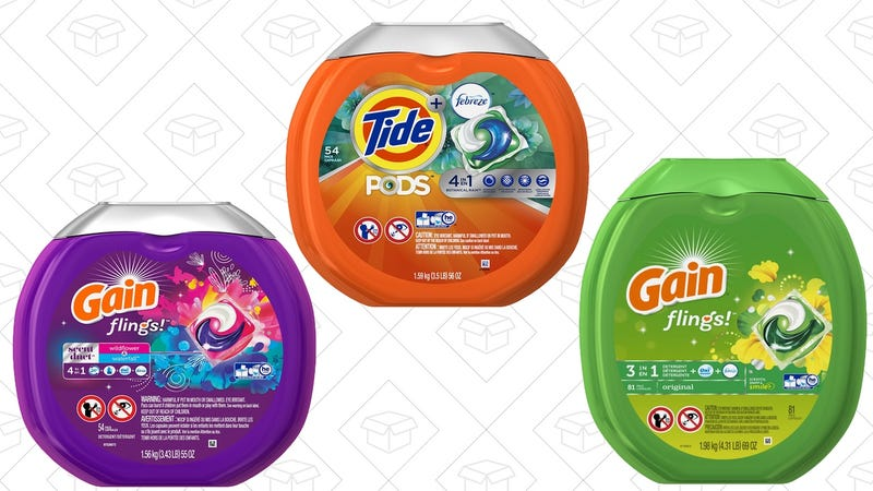 $3 off detergent pods. Discount shown at checkout.