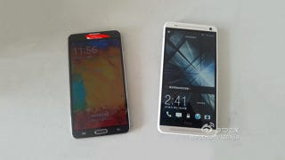 Illustration for article titled The Rumored HTC One Max Even Makes a Galaxy Note 3 Look Small