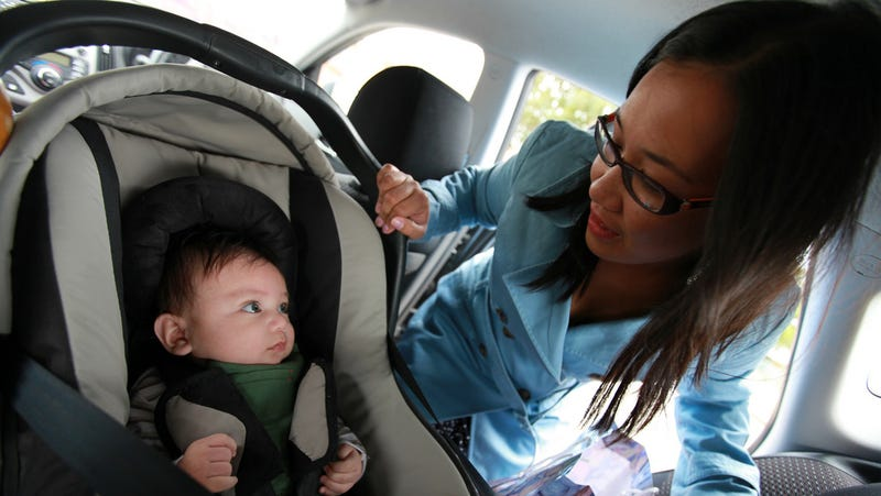 Illustration for article titled Put Your Emergency Information on Your Kid's Car Seat