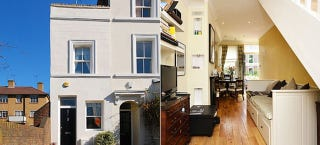 Illustration for article titled London's Narrowest House Is For Sale