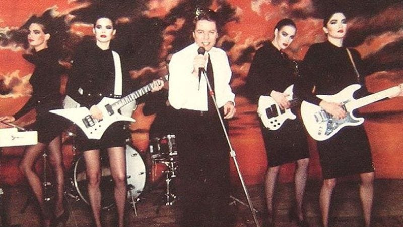 """Illustration for article titled Robert Palmer's """"Addicted To Love"""" helped define the MTV era"""