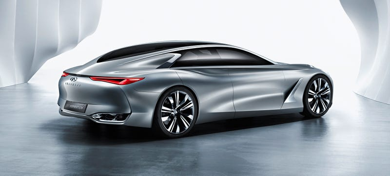 Illustration for article titled The Infiniti Q80 Concept Is A Sexy Four-Door And A Future Flagship