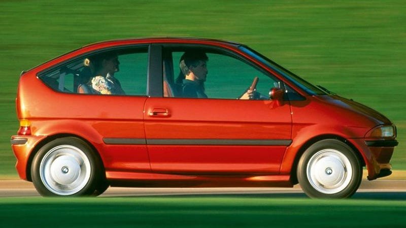 Illustration for article titled The BMW E1 Proves EVs Were Way Cooler In The '90s
