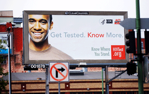 "A ""Know Where You Stand"" billboard (The Bay Area Reporter)"
