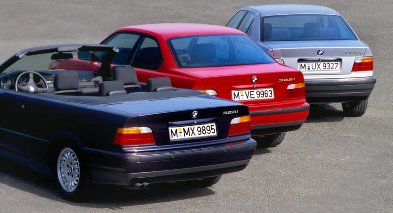 Illustration for article titled What's The Best BMW 3-Series Variant Ever Made?