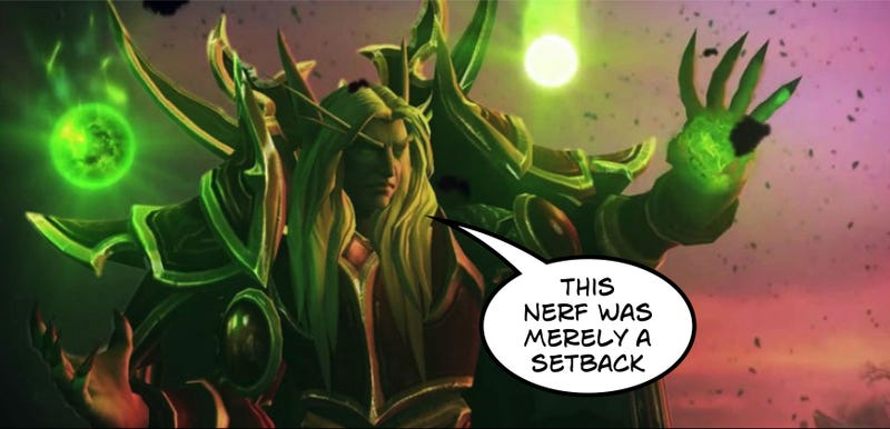 Illustration for article titled Heroes Of The Storm Nerfs Overpowered Monster Mage Kael'Thas...Again