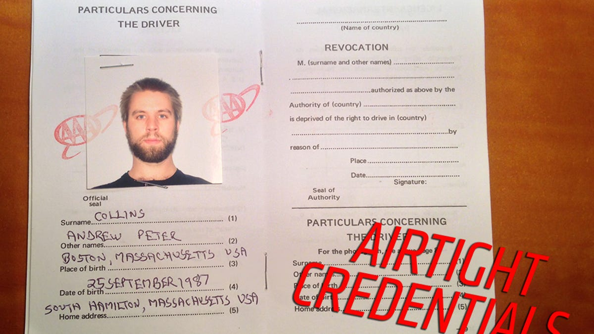 The Hilariously Sketchy Slip Of Paper You Need To Drive In