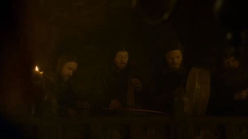 Illustration for article titled Coldplay drummer Will Champion had a cameo at the Red Wedding
