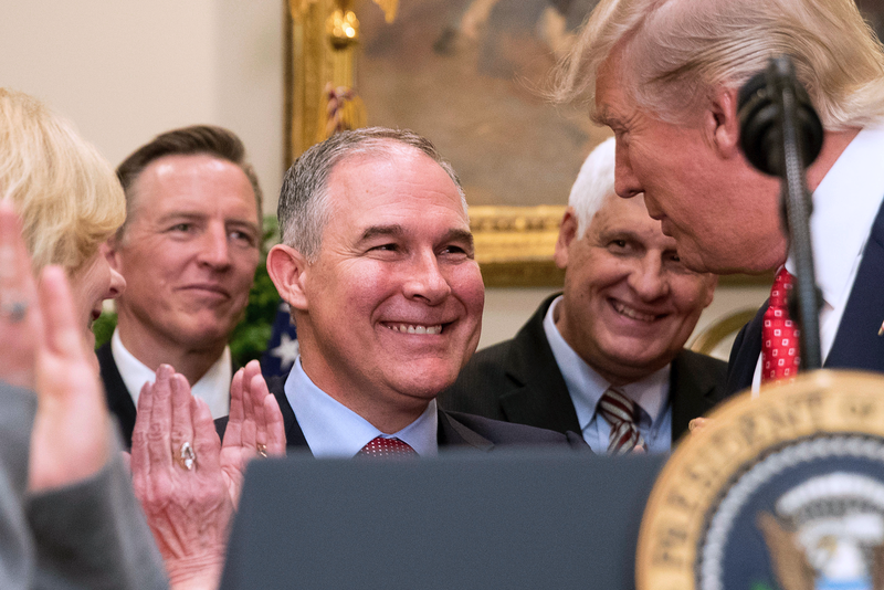 EPA Administrator Scott Pruitt: 'War On Coal Is Done'
