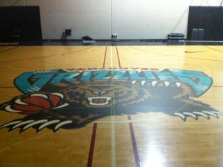 Illustration for article titled The Gift For The Grizzlies Fan Who Has Everything: A $13,000 Practice Basketball Court