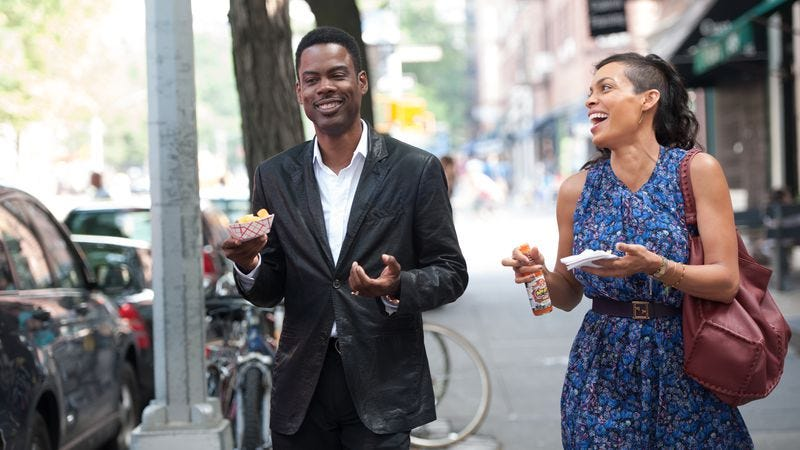 Illustration for article titled Chris Rock's showbiz rom-com Top Five is disorganized but often charming