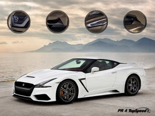 Illustration for article titled Another Day, Another GT-R Render
