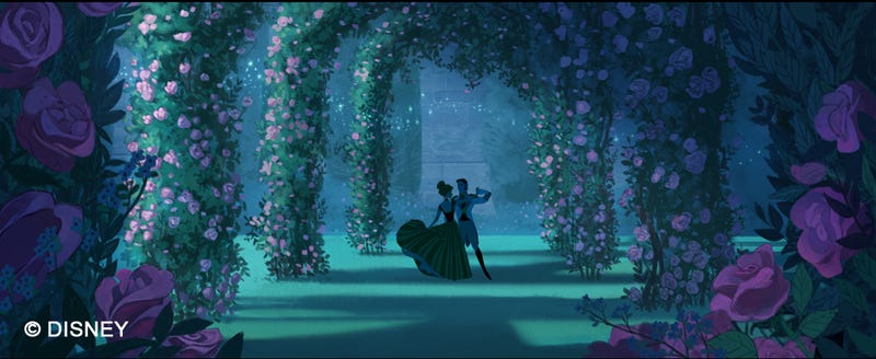 Illustration for article titled Concept Art Reveals How Frozen Might Have Looked As A 2D Animated Film