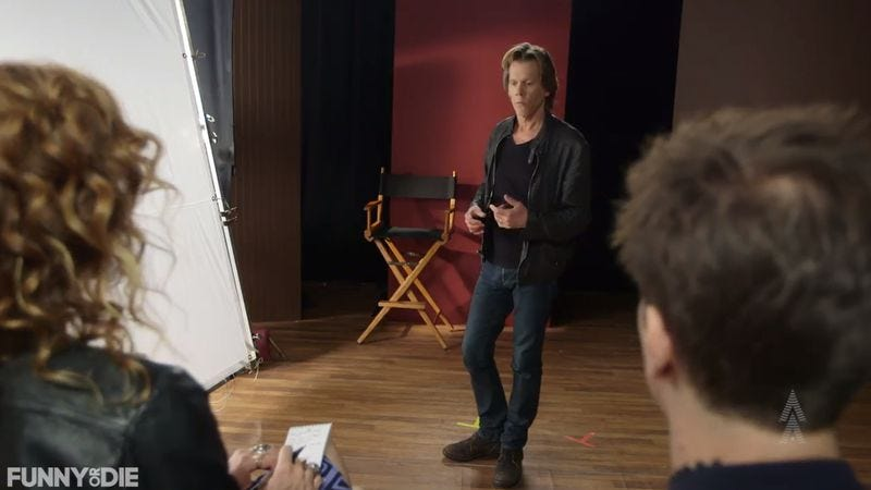 Illustration for article titled Kevin Bacon wants to teach you how to be an actor