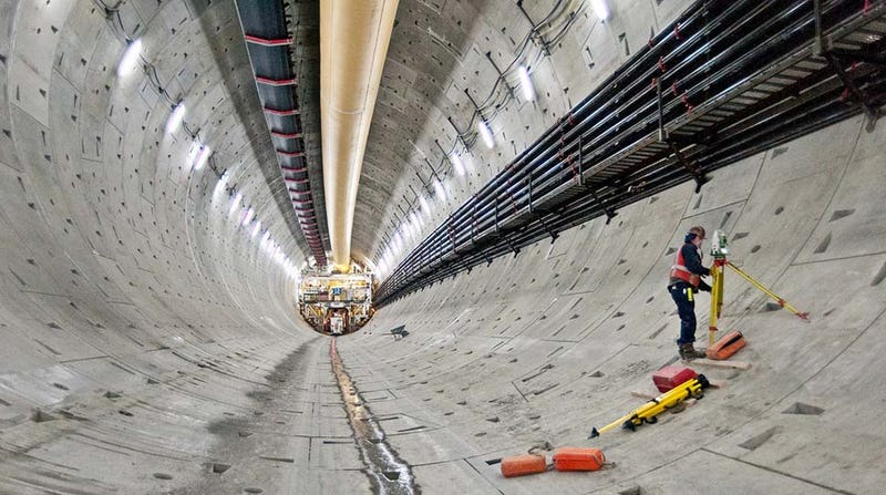 "Something Called ""The Object"" Stops World's Largest Tunneling Machine"