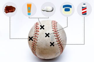 Illustration for article titled A Major League Pitcher's Guide To Doctoring A Baseball