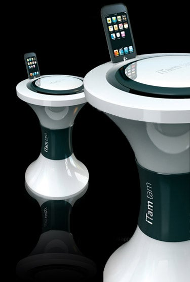Illustration for article titled iTam Tam iPod Dock Is Strangely Unique, Expensive