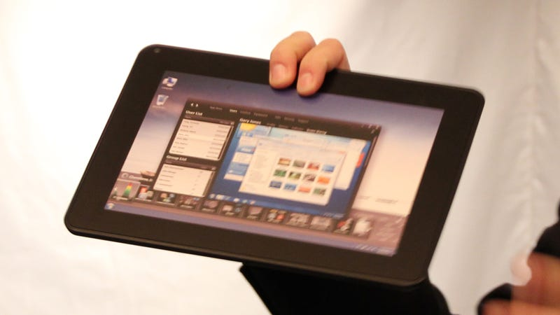 Illustration for article titled This Is Dell's Windows 7 Tablet