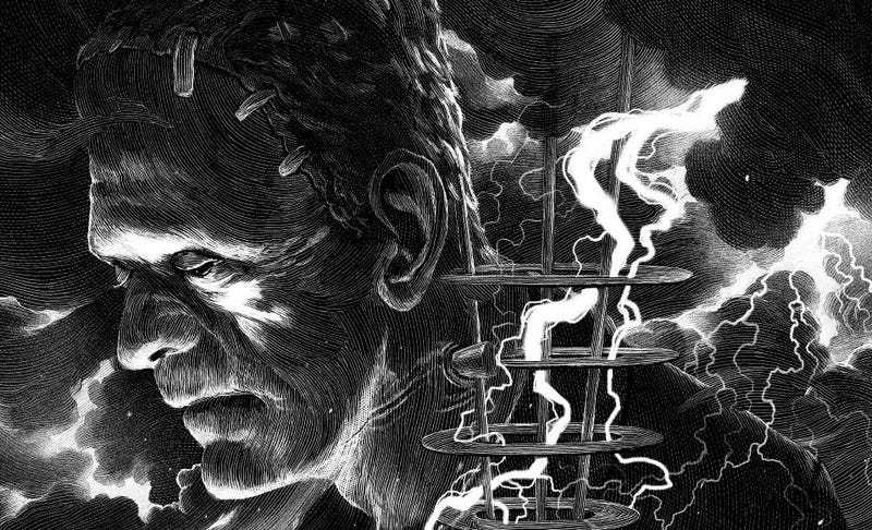 Illustration for article titled These Seven New Universal Monsters Posters Are Absolutely Stunning