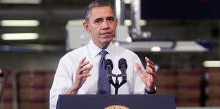 President Barack Obama (Jessica Kourkounis/Getty Images News)