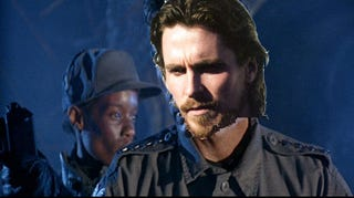 Illustration for article titled There's Still Time For Christian Bale To Escape Terminator 4