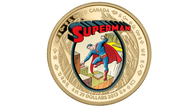 Illustration for article titled Canada releases official Superman currency for his 75th anniversary