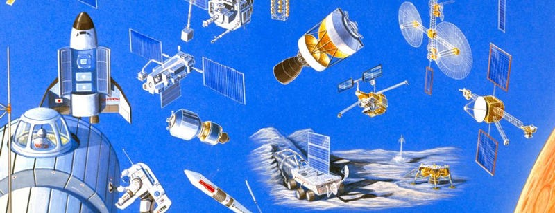 Illustration for article titled Japanese Space Agency Caught Piece Of Space Junk *This Big*