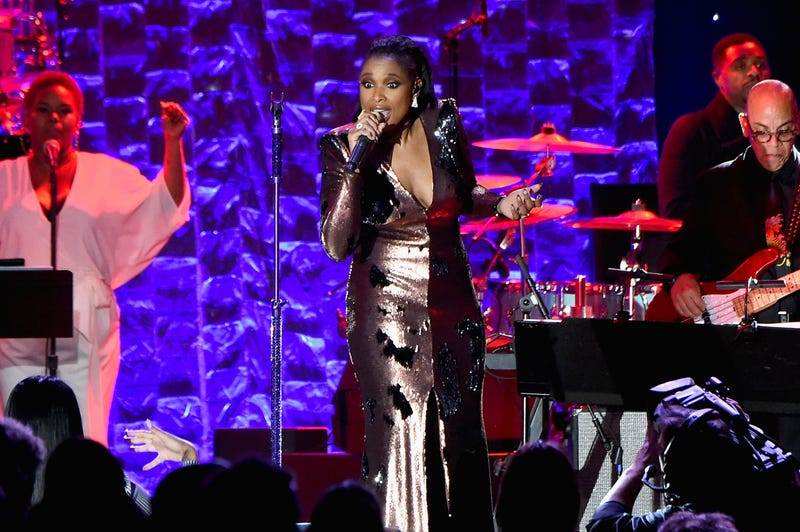 Jennifer Hudson performs onstage in New York City on Jan. 27, 2018. (Mike Coppola/Getty Images)